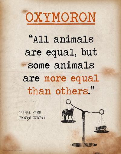 Farm Quotes | Oxymoron Featuring Quote From George Orwell S Animal Farm