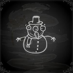 Snowman by Ozerina Anna