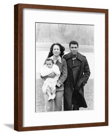Muhammad Ali and Family - 1977