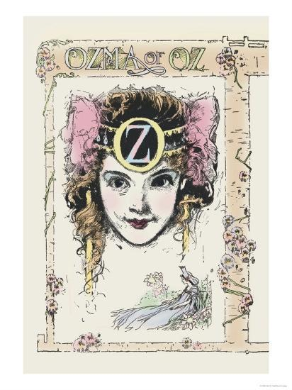 Ozma of Oz-John R^ Neill-Art Print
