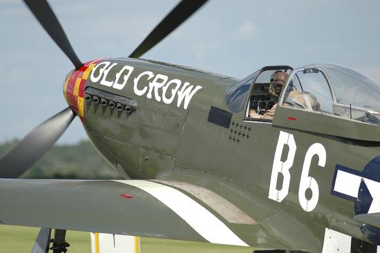 P-51D Mustang in United States Army Air Corps Colors-Stocktrek Images-Photographic Print