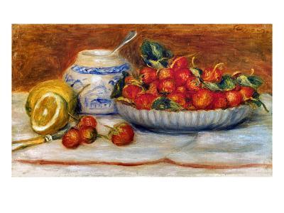 P.A. Renoir: Strawberries-Pierre-Auguste Renoir-Giclee Print