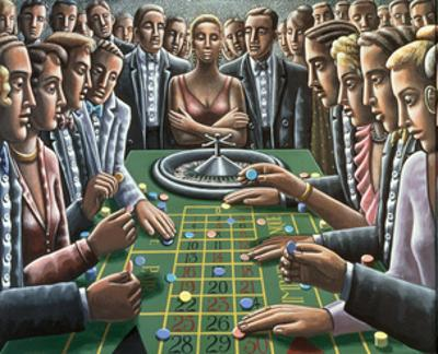 Wheel of Fortune, 1991 by P.J. Crook