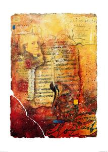 Mozart by P. Klinge