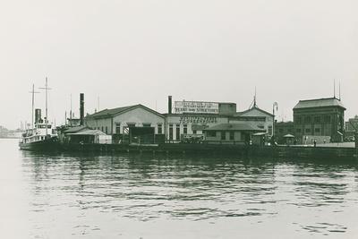Macom at East Twenty-Third Street Ferry Terminal, 1934