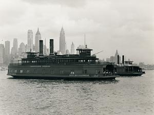 Pennsylvania Railroad Ferry New Brunswick, with the Ferry Sea Gate by P.L. Sperr