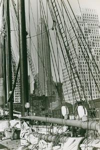 Spars and Rigging of the R.R. Govin, 1919 by P.L. Sperr