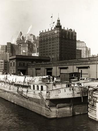 Wash Day Aboard the Barge Damass