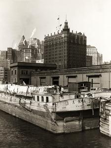 Wash Day Aboard the Barge Damass by P.L. Sperr