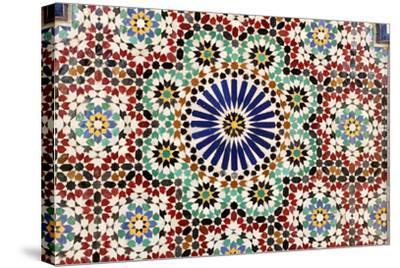Beautiful Mosaic In Muscat, Oman