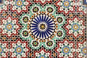 Beautiful Mosaic In Muscat, Oman by p.lange