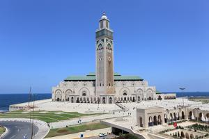 Great Mosque in Casablanca, Morocco by p.lange