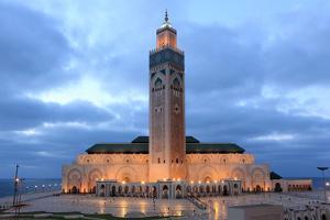 Hassan Ii Mosque in Casablanca by p.lange