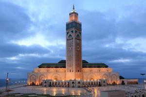 Hassan Ii Mosque in Casablanca by p.lange