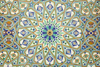 Oriental Mosaic In Casablanca