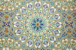 Oriental Mosaic In Casablanca by p.lange