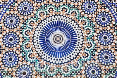 Oriental Mosaic In Morocco