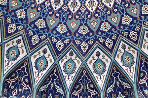 Oriental Mosaic in Muscat, Oman by p.lange