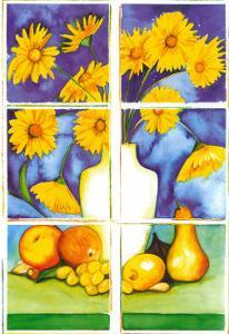 Still Life in Yellow by P. Sonja