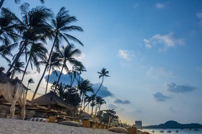 Beach Bar, Bo Phut Beach, Island Ko Samui, Thailand, Asia