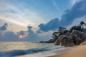 Beach Coral Cove Beach, Golf of Thailand, Ko Samui, Southern Thailand, Thailand, Asia by P. Widmann