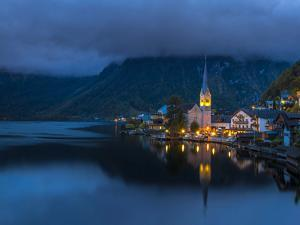 Hallstatt, Hallstatter Lake, Salzkammergut, Austria, Europe by P. Widmann