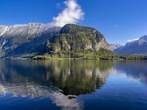 Hallstatter Lake, Salzkammergut, Austria, Europe by P. Widmann