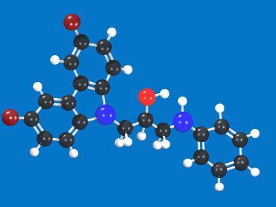 P7C3 Molecular Model-Carol & Mike Werner-Photographic Print