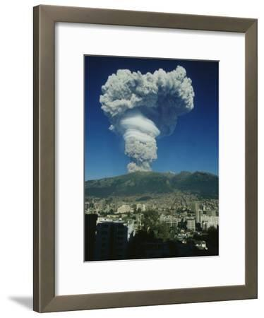 The Eruption of Guagua Pichincha on October 7, 1999, the Volcano Rises 15,728 Feet