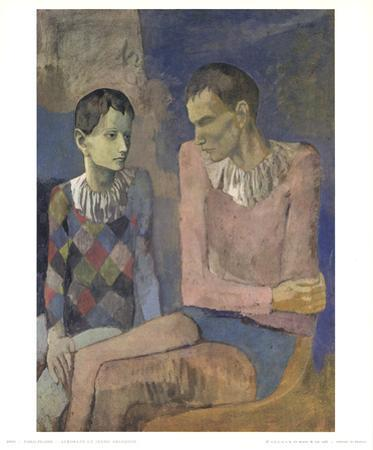 Acrobat and Young Harlequin