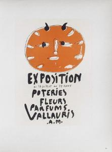 AF 1948 - Poteries Fleurs Parfums I by Pablo Picasso