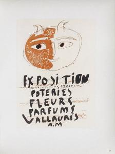 AF 1948 - Poteries Fleurs Parfums II by Pablo Picasso