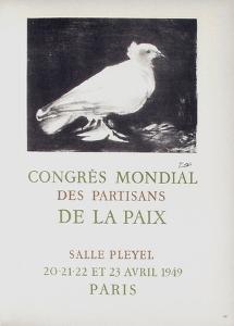 AF 1949 - Congres Mondial des Partisans de la Paix by Pablo Picasso