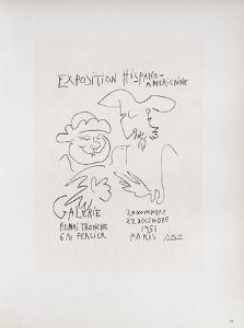 AF 1951 - Exposition Hispano-Américaine III by Pablo Picasso