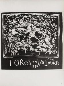 AF 1954 - Toros en Vallauris by Pablo Picasso