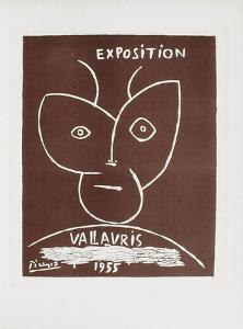 AF 1955 - Exposition Vallauris II by Pablo Picasso