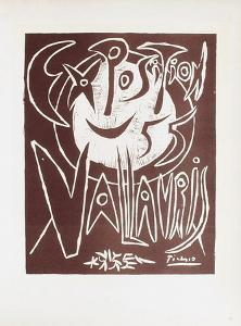 AF 1955 - Exposition Vallauris III by Pablo Picasso