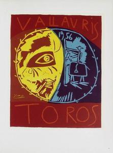 AF 1956 - Toros en Vallauris by Pablo Picasso