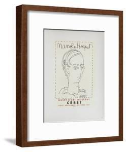 AF 1957 - Manolo Hugnet by Pablo Picasso