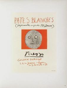 AF 1957 - Pâtes blanches II by Pablo Picasso