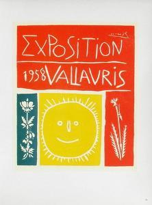 AF 1958 - Exposition Vallauris by Pablo Picasso
