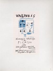 AF 1958 - Vallauris 10 ans de céramique by Pablo Picasso