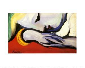 At Rest by Pablo Picasso