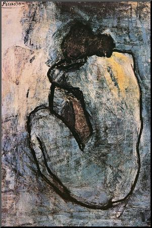 Blue Nude, c.1902 by Pablo Picasso