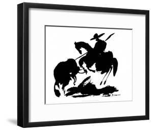 Bullfight I by Pablo Picasso