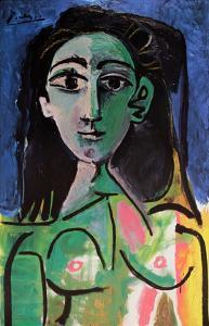 Buste de Femme (Jaqueline) by Pablo Picasso