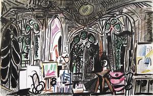 Carnet de Californie 01 by Pablo Picasso
