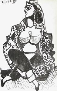 Carnet de Californie 08 by Pablo Picasso