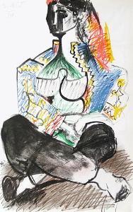 Carnet de Californie 14 by Pablo Picasso