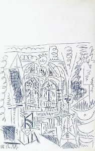 Carnet de Californie 26 by Pablo Picasso